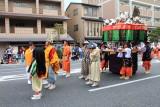 Daily life customs in Muromochi Shogunate (1338 - 1573), Jidai Matsuri Festival, Kyoto, Japan
