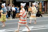 Katsura-Me, ladies from the Middle Ages (1180 - 1600), Jidai Matsuri Festival, Kyoto, Japan