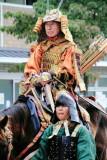 Sakanueeno Tamuramaro, Enryaku Period Warriors (782-806), Jidai Matsuri Festival, Kyoto, Japan