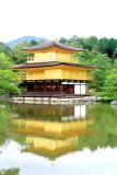 Kinkaku-ji, The pond of Kyoko-chi, Temple of the Golden Pavilion, Kyoto, Japan