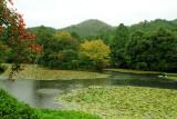 Lake, Ryōan-ji, The Temple of the Dragon at Peace, Kyoto, Japan