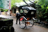 Cycle rickshaw, Arashiyama, Kyoto, Japan