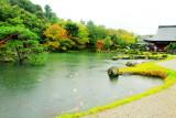 Garden, Tenryū-ji, Arashiyama, Kyoto, Japan