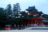 Castle in the corner (Sōryūrō), Heian Jingu Shrine, Kyoto, Japan
