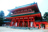 Ote-mon, main gate, Heian Jingu Shrine, Kyoto, Japan