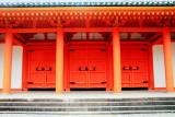 Doors, Sanjūsangen-dō, Rengeō-in, Kyoto, Japan