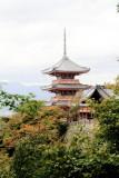 Three-storied Pagoda, Kiyomizu-dera, Kyoto, Japan