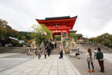 Niōmon (deva gate), Kiyomizu-dera, Kyoto, Japan