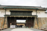 Higashi-Ōte-mon, Great eastern Gate, Nijo Castle, Kyoto, Japan