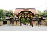 Kara-mon, gate, Nijo Castle, Kyoto, Japan