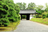 gate, Nijo Castle, Kyoto, Japan