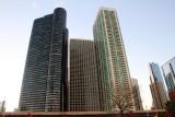 North Harbor Tower Apartments, Harbor Point Condominiums, The Parkshore, Chicago, Illinois