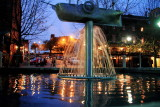 City Hall Landing fountain