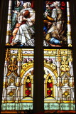 Stained Glass Window, Cathedral of St. John the Baptist, 1873-1896, Lafayette Square