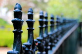 Wrought Iron fence, Andrew Low House, 1848