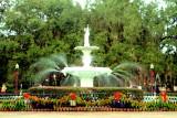 Forsyth Fountain, 1858, Forsyth Park