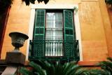 Window, Old Sorrel-Weed House, 1840, Charles B. Cluskey architect