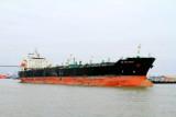 Container ship, Savannah River