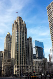 Tribune building, Chicago, Illinois