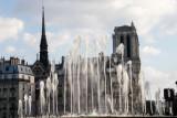 Fountain, Paris, France