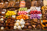 Chocolates, Mercat de Sant Josep O la Bouqueria, Barcelona, Spain