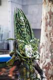 Alien, street performer, La Rambla, Barcelona, Spain