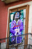 Dali window, Barcelona, Spain