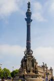 Monumento a Colón (Columbus Monument), Barcelona, Spain