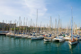 Boats, Port Vell marina, Barcelona port, Spain