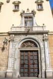 Door, Basílica de Nostra Senyora de la Mercè, Barcelona, Spain