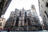 Cathedral of Santa Eulalia, Barcelona Cathedral, Barcelona, Spain