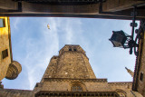 Bell Tower, Cathedral of Santa Eulalia, Barcelona Cathedral, Barcelona, Spain