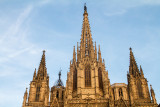 Cathedral of the Holy Cross and Saint Eulalia, Barcelona Cathedral, Barcelona, Spain