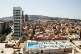 View of Barcelona from Gran Torre Catalunya Hotel, Spain