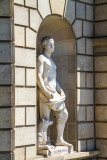 Sembrador, statue, Barcelona, Spain