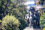 Statues, Barcelona, Spain