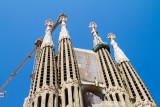 Basílica i Temple Expiatori de la Sagrada Família, Basilica and Expiatory Church of the Holy Family, Barcelona, Spain