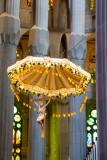 Inside the Nave, Sagrada Familia, Antoni Gaudi, Barcelona, Spain