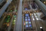 Nave, Sagrada Familia, Antoni Gaudi, Barcelona, Spain