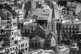 Santa Maria del pi, Barcelona, Spain