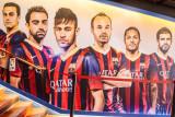 Barcelona football, Camp Nou, Barcelona, Spain