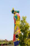 Joan Miro - Woman and bird, Escorxador Park, Barcelona, Spain