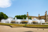 Montjuic Magic Fountain, Barcelona, Spain