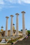 Columns, Placa de Espana, Barcelona, Spain