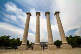 Columns, Palau Nacional, Barcelona, Spain
