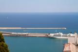 Balearic Sea, Barcelona port, Spain