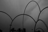 Andreu Alfaro - ´Onades´ escultura de Andreu Alfaro, puerto de Barcelona, Steel waves, port of Barcelona