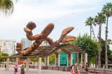 Javier Mariscal - Happy Lobster, Port Vell, Barcelona, Spain