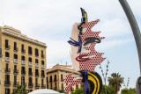 Roy Lichtenstein - Cap de Barcelona, Barcelona's Head, Spain