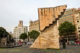 Monument to Francesc Macià i Llussà, Placa de Catalunya, Barcelona, Spain